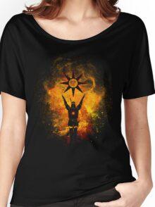 Praise the sun Art Women's Relaxed Fit T-Shirt