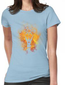Praise the sun Art Womens Fitted T-Shirt