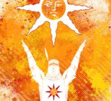 Praise the sun Art Sticker