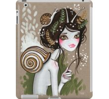 Snail Girl iPad Case/Skin
