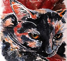 Winston, featured in Art Universe, Cat's Pajamas by Françoise  Dugourd-Caput