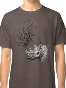Hands Off Our Rhino! Stop The Poaching Classic T-Shirt