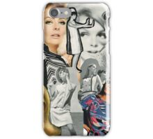 60s, 1960s, Sixties, Mod, Fashion, Retro, Vintage iPhone Case/Skin