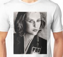 Dana Scully (Charcoal) Unisex T-Shirt