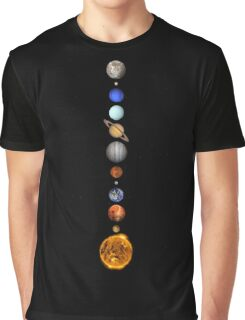 Solar System space astronomy fashion retro planets cool Graphic T-Shirt