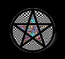 Pentacle Of Trippy by perkix