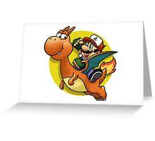 PokeBros Greeting Card