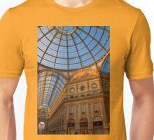 Italy. Milan. Galleria Vittorio Emanuele II. Unisex T-Shirt