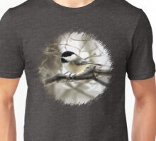 I Spy a January Thaw ~ Chickadee   Unisex T-Shirt