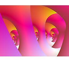 Pink Labyrinth Photographic Print