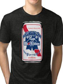 Pugs Blue Ribbon Tri-blend T-Shirt