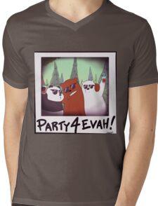 Party 4 Evah!!! Mens V-Neck T-Shirt