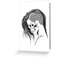 Skeleton Babe Greeting Card