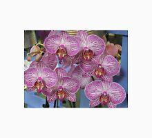 Striped Orchids Unisex T-Shirt