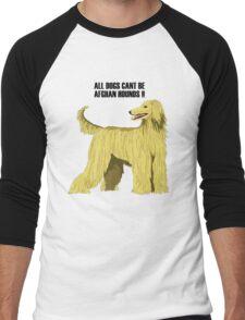 Afghan hound Men's Baseball ¾ T-Shirt