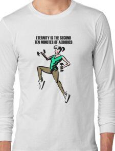 Aerobics lady Long Sleeve T-Shirt