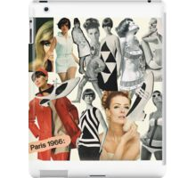 60s, 1960s, Sixties, Mod, Fashion, Retro, Vintage iPad Case/Skin