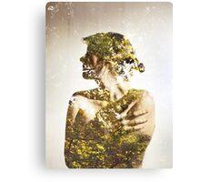Autumn Leaves - Multiple Exposure. Canvas Print