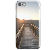 Sunrise at the Dorrigo Skywalk iPhone Case/Skin