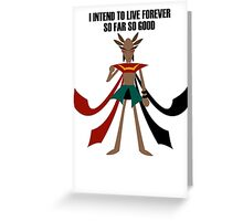 Amazon mage Greeting Card