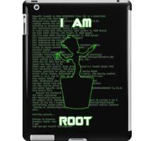 I AM ROOT (simple version) iPad Case/Skin