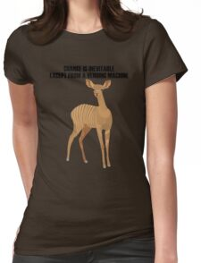 Animal Womens Fitted T-Shirt