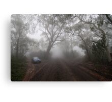The Foggy Road to Anvil Rock Lookout Canvas Print