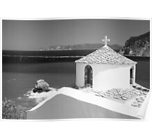 Church from Skopelos Poster