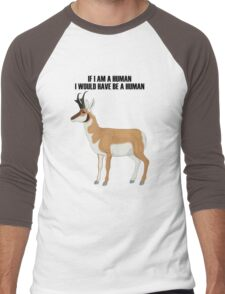 Animal Men's Baseball ¾ T-Shirt