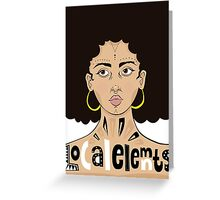 Local Elements Greeting Card