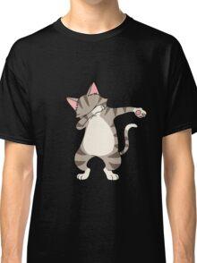 Dabbing Cat Dancing Kittens Lovers Rescue Animals Gift Classic T-Shirt