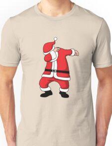 Dabbing Santa Christmas Holiday Vacation Family Gift Unisex T-Shirt