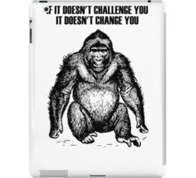 Ape sitting iPad Case/Skin