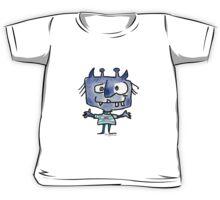 Funny Cartoon Monstar Monster 022 Kids Tee