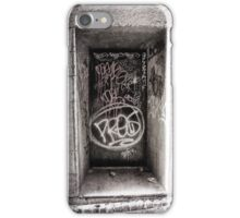 Door with Graffiti iPhone Case/Skin
