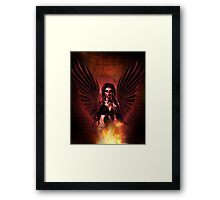 Damned Angel Framed Print