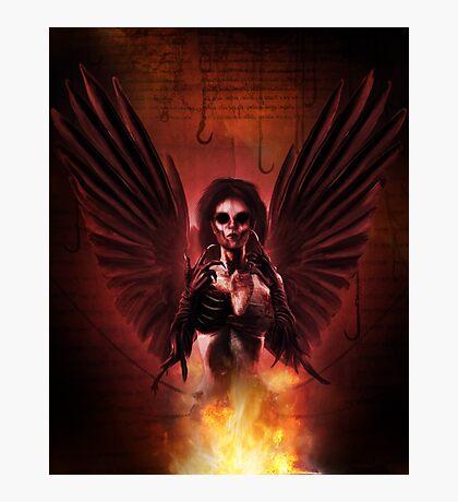 Damned Angel Photographic Print