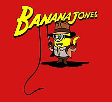BANANA JONES AND THE GOLDEN BANANA by karmadesigner