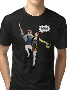 Outlast / Rocky Horror crossover Tri-blend T-Shirt