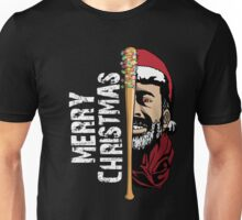 Merry Christmas Walker Zombies Baseball Negann Gift Unisex T-Shirt