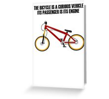 Bicycle Bike Greeting Card
