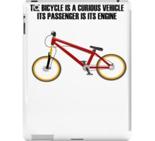 Bicycle Bike iPad Case/Skin