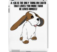 Big Earred Dog iPad Case/Skin