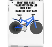 Bike iPad Case/Skin