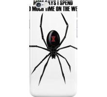 Black Widow Spider iPhone Case/Skin