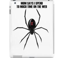 Black Widow Spider iPad Case/Skin