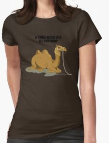 Camel1 Womens Fitted T-Shirt