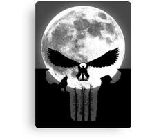 Punisher Moon Canvas Print