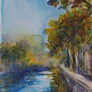 Canal St Martin, Paris by Terri Maddock