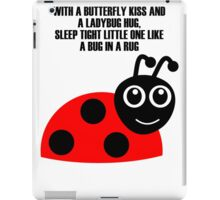 cartoon ladybug iPad Case/Skin